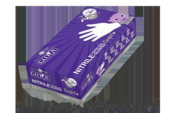 I'M GLOVE Comfort+ Nitrile Protection Gloves Powder-Free (Violet Blue)